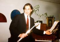 Il flautista Andrea Ortu