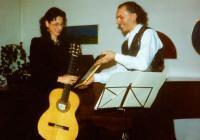 La chitarrista Maria Vittoria Jedlowsky riceve un omaggio