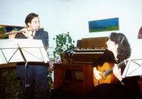 Andrea Ortu e Maria Viottoria Jedlowsky in duo