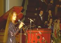 Performing with Diana Hubbard -  Milano feb 1980