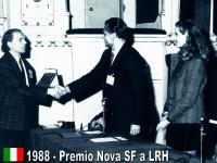 Nova SF Award to Mr. Hubbard for SF 1988