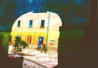 esposizione - cortile del Castello Oldofredi
