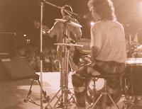 Lucio Bonzani alla batteria