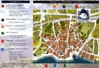 la mappa aree espositive