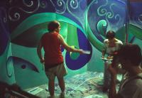 Danilo e Monica on the stage preparation