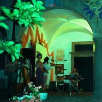 Portico Archetti by night