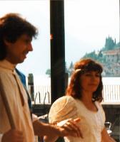 Fabio Ticozzelli e Marta Luppi