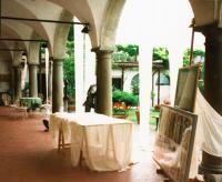 la mostra al Portico Archetti