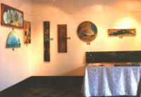 exhibition of Frammenti di Andromeda