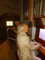Loreto (Novara) - 8 settembre 2012  l  Organo della Chiesa della Madonna - Loreto  Pier Paderni - Organo  Andrea Ortu - Flauto traverso  repertorio di musica barocca  un felice ritorno alle sonorità di un vecchio organo a canne con l'acustica evocativa di questa piccola chiesa di campagna che conserva il fascino e la bellezza della migliore tradizione
