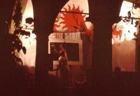 Portico Archetti di sera