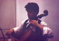 Edoardo Sbaffi al violoncello