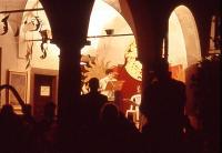 la magia della sera al Portico Archetti
