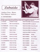 Concerto di Zubaida