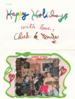 Chick Christmas wishes 2001