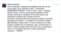 Daniele Messina feed back