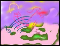 Chick Corea created this charming drawing