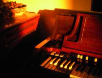 Hammond A 100 - warm light, warm like the sound - by Pier Paderni