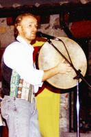Mike drumming Irishely