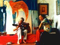 rehearsal in Monteisola