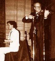 with Pino Zerioli, Milano 1979