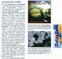 Timebandits - Il nostro primo CD