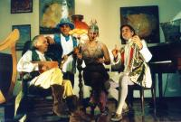 Timebandits - who's that one with the funny hat?