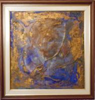 "Pier Paderni - ""Abstract""  (70x40 cm), coll. privata"