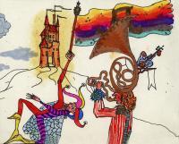 """Pier Paderni - °(Milano 1976) """"Agarbatti"""" by Marco Damiani , Andromeda Files"""