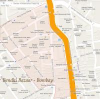 Bendy Bazaar Bombay 1972 - 1973