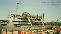 from Bombay to Panjim - Goa 1972