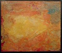 """Pier Paderni - """"Fangorn""""  (50x50 cm), coll. privata"""