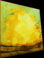 """Pier Paderni - """"Franciacorta"""" (90x90 cm), coll. privata"""