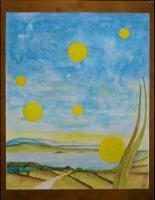 """Pier Paderni - """"Franciacorta""""  (50x30 cm), coll. privata"""