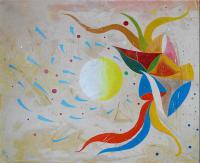 "Pier Paderni - ""Galactic Recall""  (75x60 cm)"