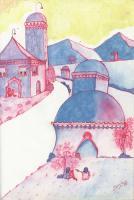 "Pier Paderni - *(Kabul 1973) ""Going to Mahzari Sharif"" 34x28cm"