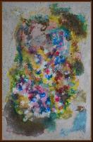 """Pier Paderni - """"Floreale"""" (60 x 36 cm)"""