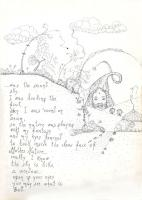 "Pier Paderni - *(Borno 1972) ""Pensando magie"" 25x18cm, Andromeda Files"