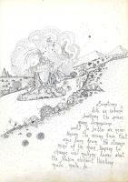 """Pier Paderni - *(Colle Isarco 1974) """"Fiumi... alberi"""" 25x18cm, Andromeda Files"""