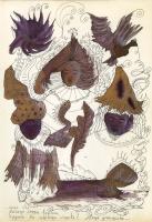 "Pier Paderni - *(Colle Isarco 1975) ""Magic of Anjuna "" 25x18 cm"