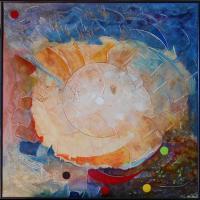 """Pier Paderni - """"Valar""""  (100x90 cm),proprietà autore"""